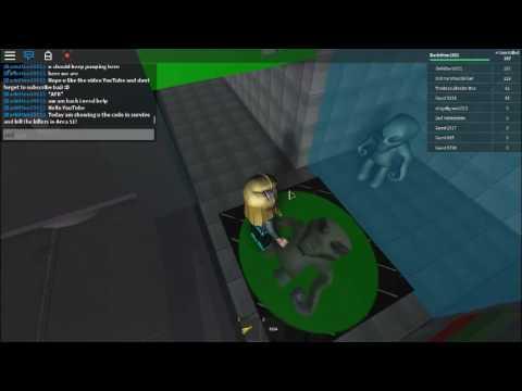 roblox survive area 51 code