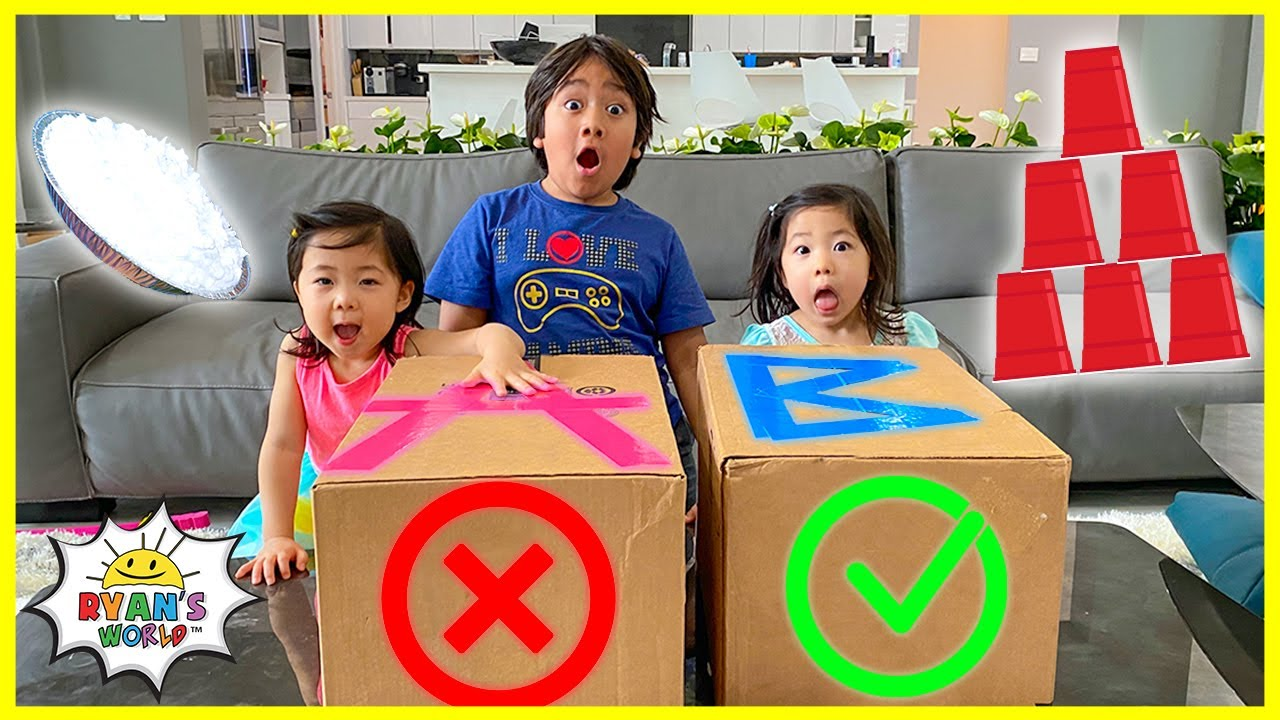 Don't Choose the wrong MYSTERY box challenge!!!