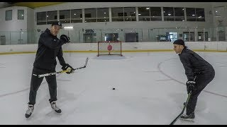 Tracksuit Trickshots | IC Hockey