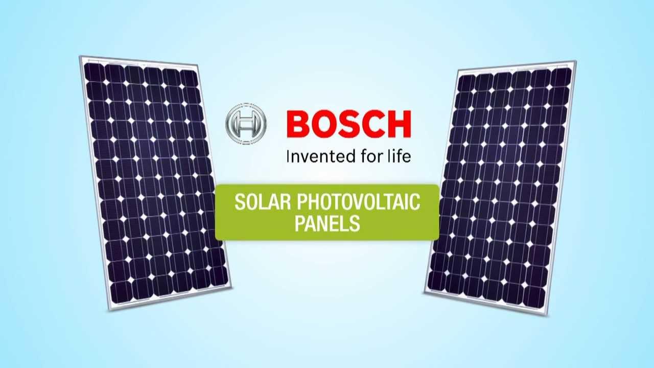 solar bosch