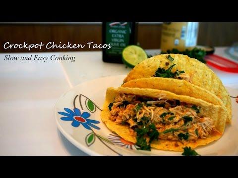 Crockpot Chicken Tacos – Slow Cooker, Easy Recipe