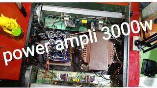 Review power ampli Rakitan 3000 watt tahan lama