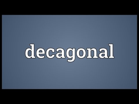 Header of decagonal