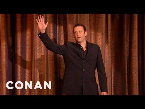 "Vince Vaughn's Surprise Plug For ""The Watch"" - CONAN on TBS"