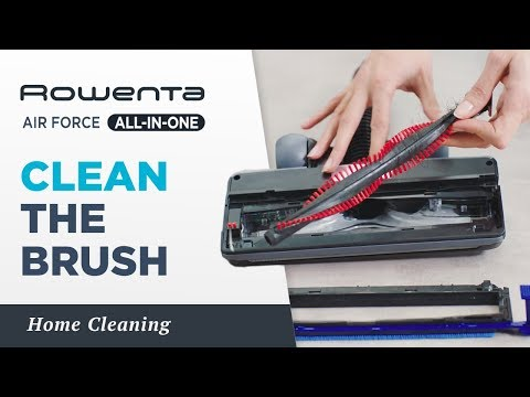 How to clean the brush? | AIR FORCE™ ALL-IN-ONE | Rowenta