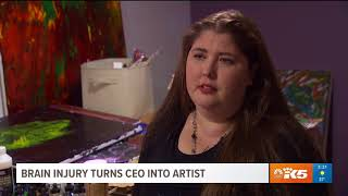 Artist Heather Thompson Featured on King 5