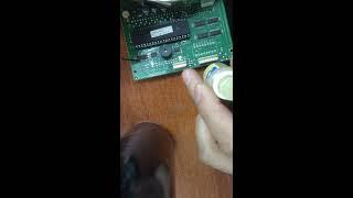 Ремонт платы дисплейного модуля Fermax