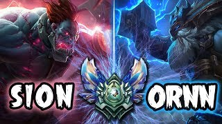 Does Sion + Ornn Bot work in Diamond!?!? LETS FIND OUT
