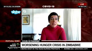 Worsening hunger crisis in Zimbabwe; WFP appeals for additional funds: Lola Castro