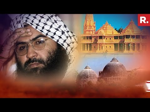 JeM's Masood Azhar Releases A Threat Video To India On The Construction Of Ram Mandir In Ayodhya