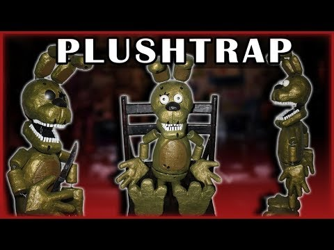 How to Make: Plushtrap Puppet! (FNAF 4)