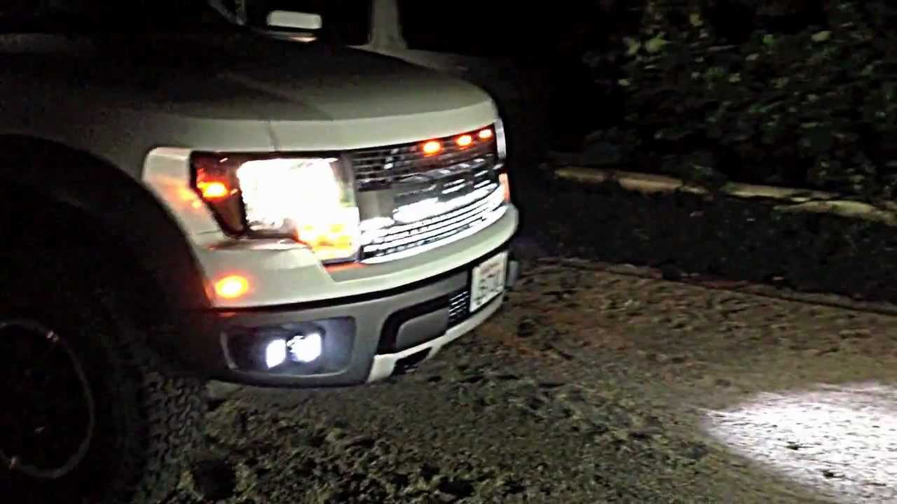 & FORD RAPTOR RIGID INDUSTRIES LIGHTS - YouTube azcodes.com