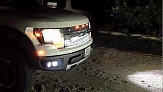 FORD RAPTOR RIGID INDUSTRIES LIGHTS