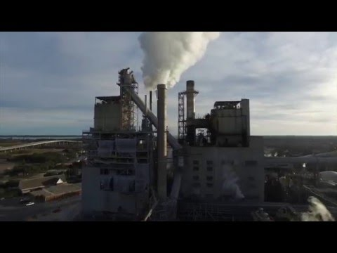 DJI Phantom 3 Paper Mill Flight in Georgetown, SC