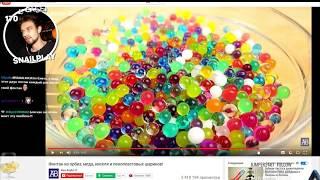 SNAILKICK (18+) BR смотрим видео про шоколадный фонтан ( краска, орбизы, кисель, мед и т.д.)
