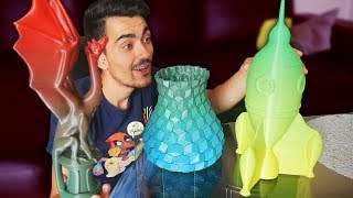 CRASH TEST: DES IMPRESSIONS 3D MULTICOLORES ! - Filament Multicolore #10