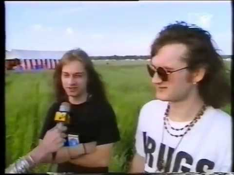 Fudge Tunnel - Interview & Live (Headbangers Ball 1993)