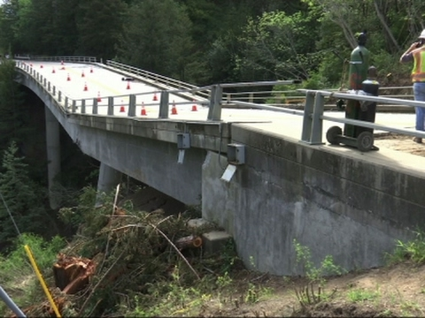 Bridge Failure Creates New Reality for Residents