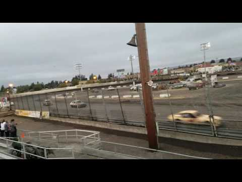Petaluma Speedway 9-10-16 Mark Washington main event 2nd1/2 of final race