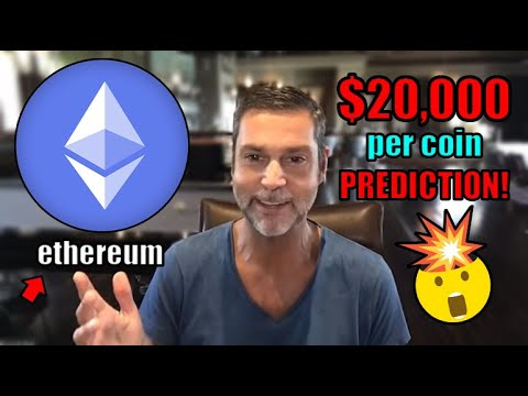 Raoul Pal Explains How 1 Ethereum Could Reach OVER $20,000 Per Coin. EXPLOSIVE 2021 Prediction 🔥