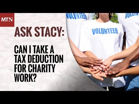 Can I Take a Tax Deduction for Charity Work?