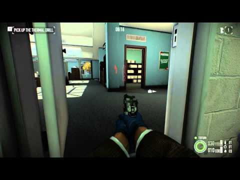 Payday 2 Bank Heist DW Stealth (Front Vault)