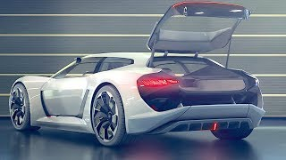 Electric Audi INTERIOR Video PB18 e-tron Audi Shooting Brake Interior Audi RS Hothatch Video