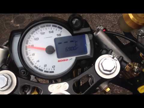 Test số RPM đồng hồ RX2N-R trên Exciter Drag