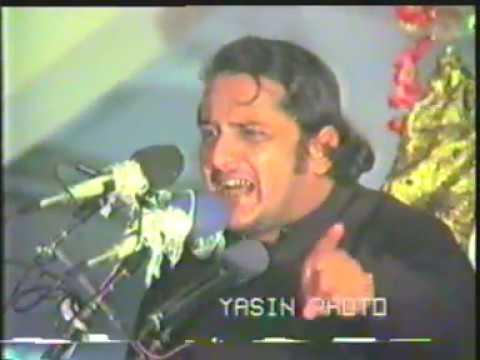 Allama Irfan Haider Abidi Ashra Majalis 8th Moharram 1409 hijri