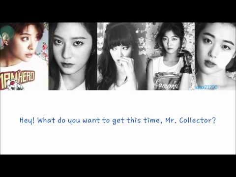 f(x) - Toy [Hangul/Romanization/English] Color & Picture Coded HD