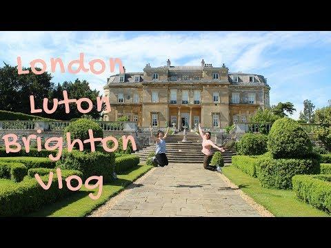 Visiting London, Luton, Brighton in one week   Vlog #7