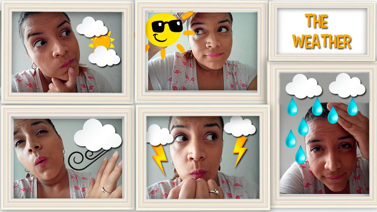Aprende En Inglés Los Tipos De Clima The Weather