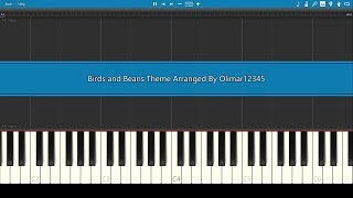 Birds and Beans Main Theme - Piano Tutorial