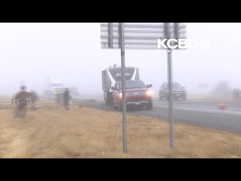 VIDEO: Tractor-trailer Crashes Just Feet From Texas News Camera In Lubbock County