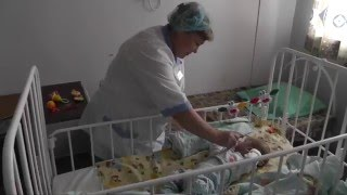 Избитый пятимесячный мальчик в больнице