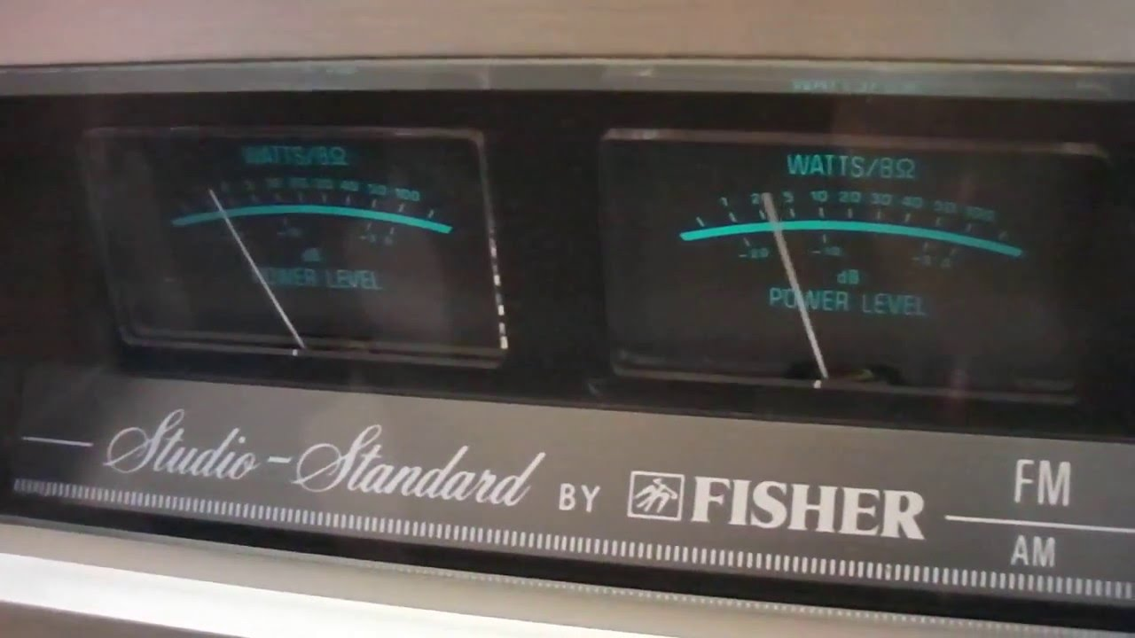 fisher rs receiver stereo