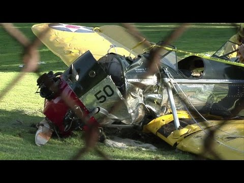 US actor Harrison Ford injured in plane crash
