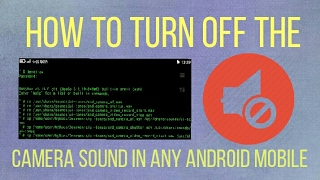 HOW TO TURN OFF ANDROID CAMERA SOUND (Huawei Honor Holly) {Root}