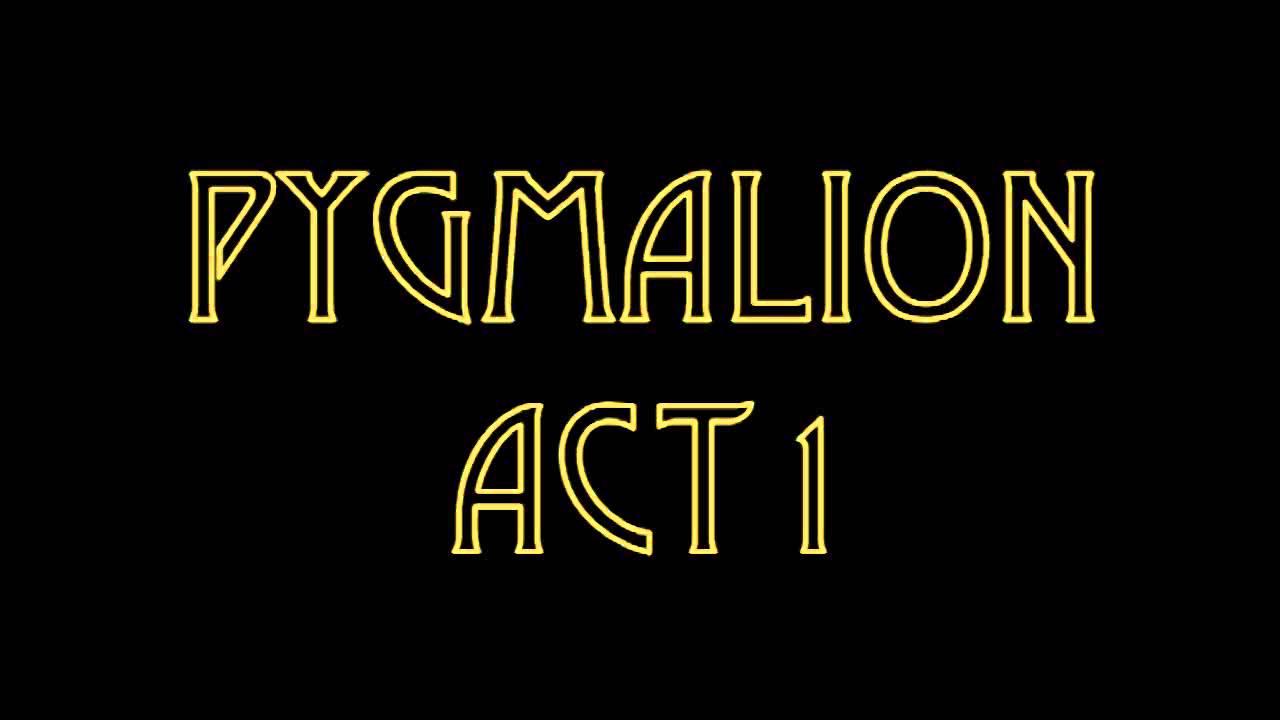 pyg on act  pyg on act 1