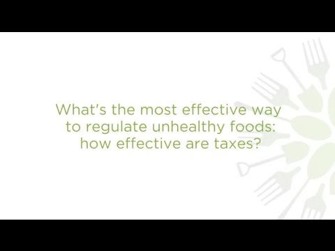 What's the best way to regulate unhealthy food? Taxes vs. Incentives