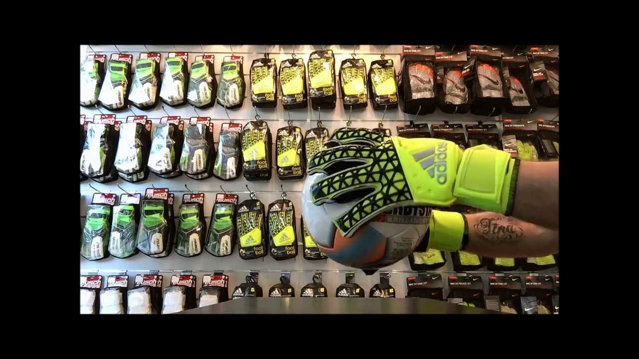 ADIDAS ACE ZONES FINGERSAVE ALLROUND - YouTube 603532459508