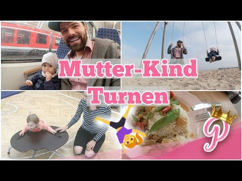mutter-kind-turnen-|-eine-besondere-tasse-|-papa-der-wetterfrosch-|-25-09-2017-|-familyvlog-#159