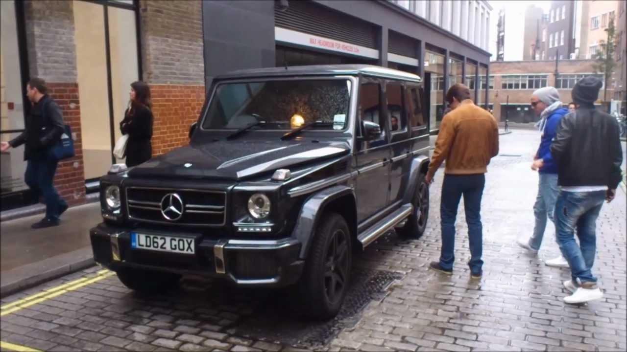 Mercedes benz g63 amg new burlington place london youtube for London mercedes benz