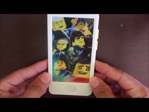 Download Youtube: Ninjago Selfie Phone McDonalds Happy Meal Toy