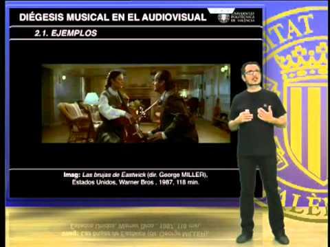 Diégesis musical en el audiovisual.© UPV