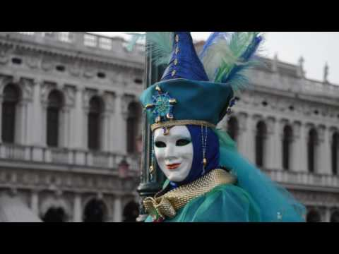 Travel Video - Carnaval In Venice, Italy In 2017 - Italy Travel