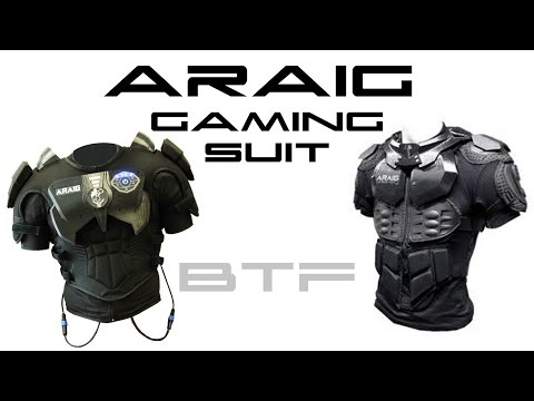 ARAIG Gaming Suit - Behold The Future