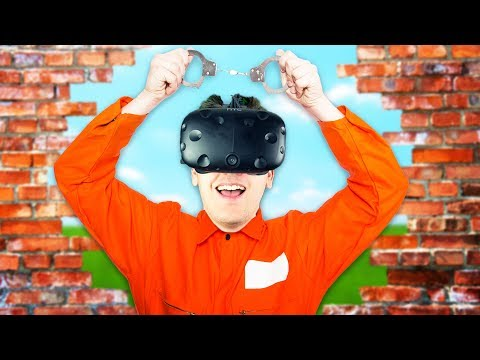Escaping the VR Prison! - Prison Boss VR Gameplay - VR HTC Vive