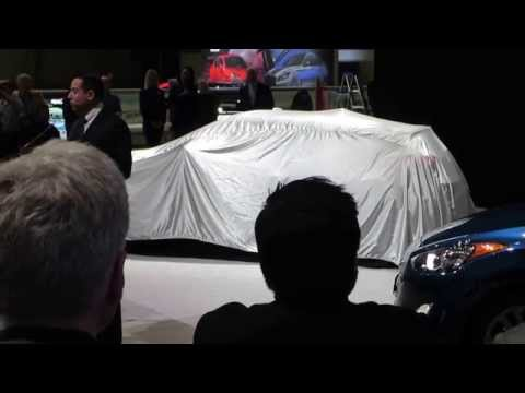 Hyundai Veloster 2016 announcement at the Chicago Auto Show