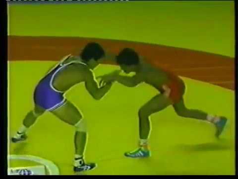 Борис Будаев (Бурятия, СССР) - Косэй Акаиси (Япония). Чемпионат мира по борьбе 1989 год